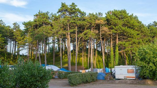 camping Barneville Carteret emplacements