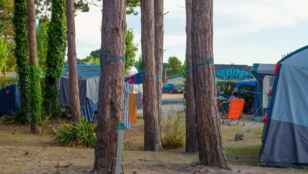 camping manche emplacement tente les bosquets