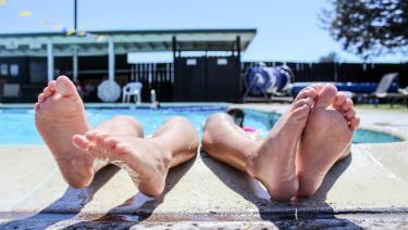 camping avec piscine dans la manche